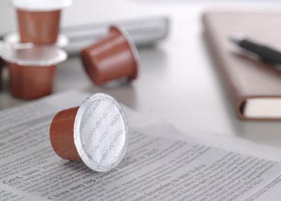 Nespresso capsules chocolademelk
